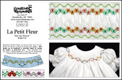 traditional smocking design plate